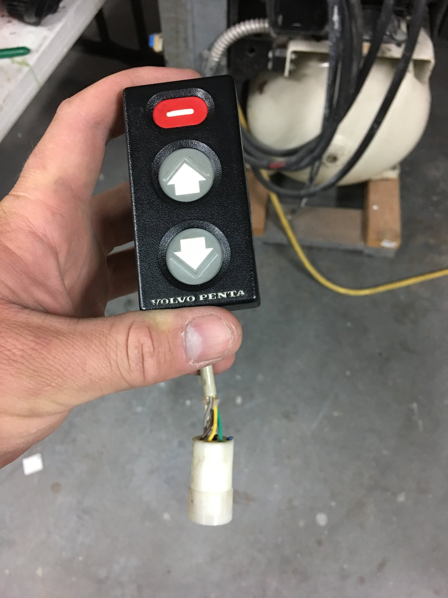 For Sale - Volvo Penta ad41 ignition switch and warning get