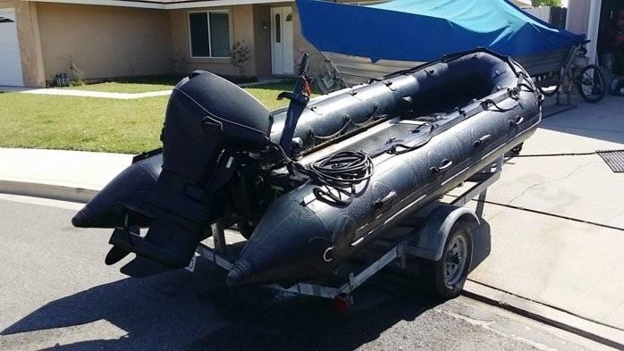 FOR SALE: 2003 Zodiac FC470 Navy Seal Boat | Bloodydecks