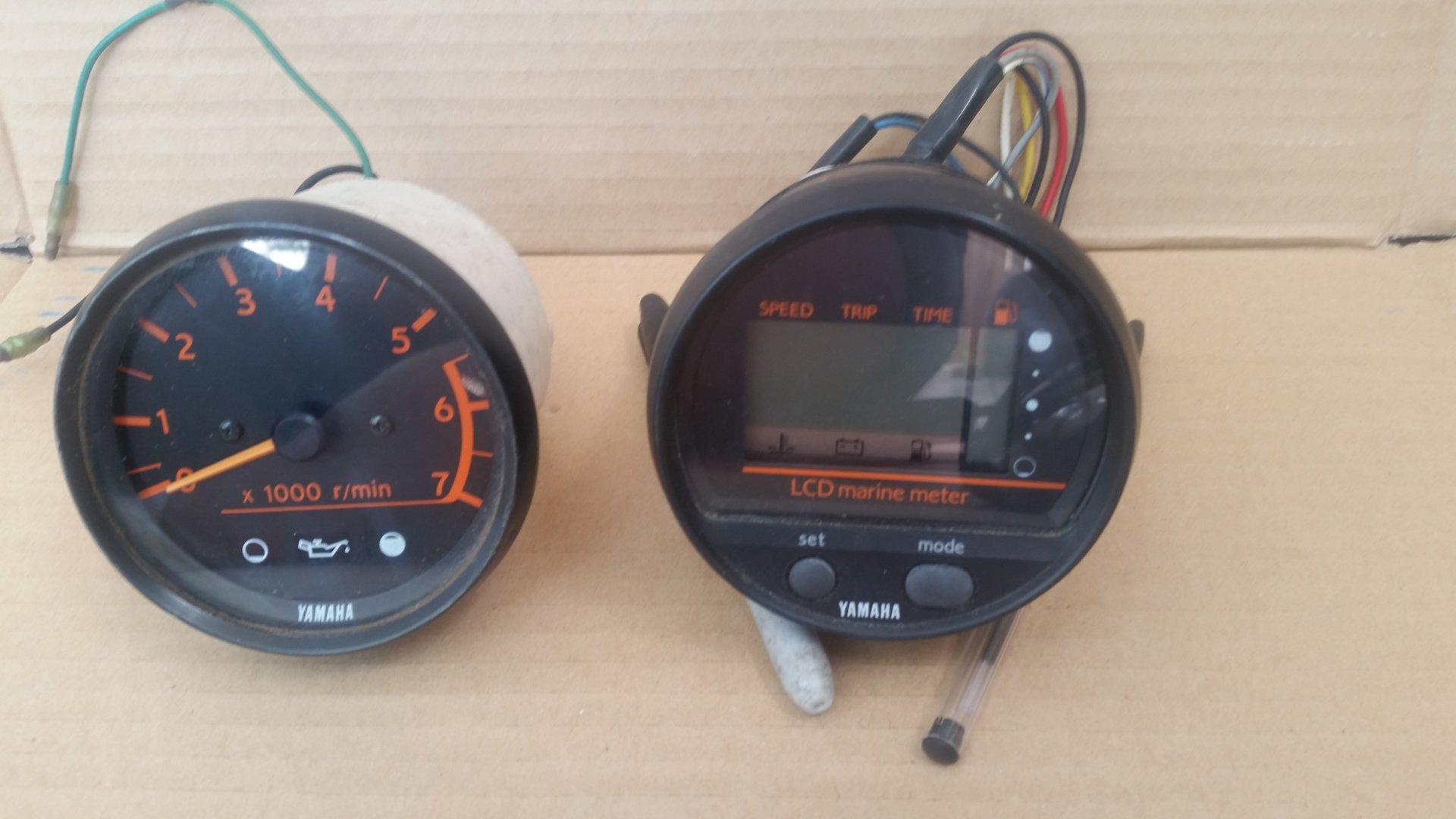 Boat speedometer yamaha Wiring directions