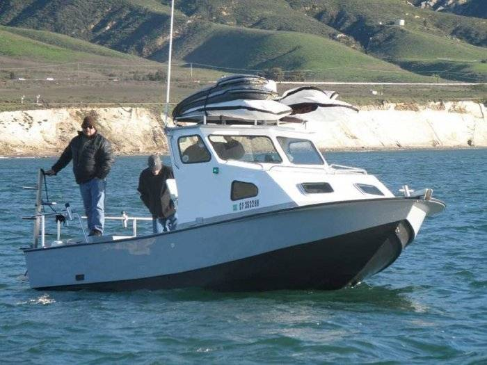 22 39 anderson repower and retrofit page 2 saltwater for Big mohawk fishing boat