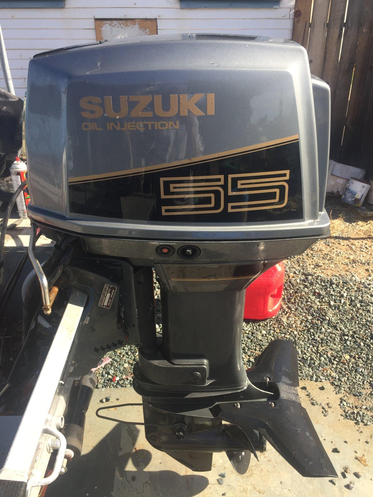 55 Hp Suzuki 2 Stoke Outboard Sold Bloodydecks