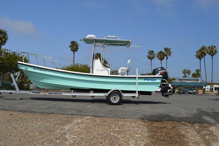Panga 22 lx 2006 center console 19 900 sold for Fishing boats for sale san diego