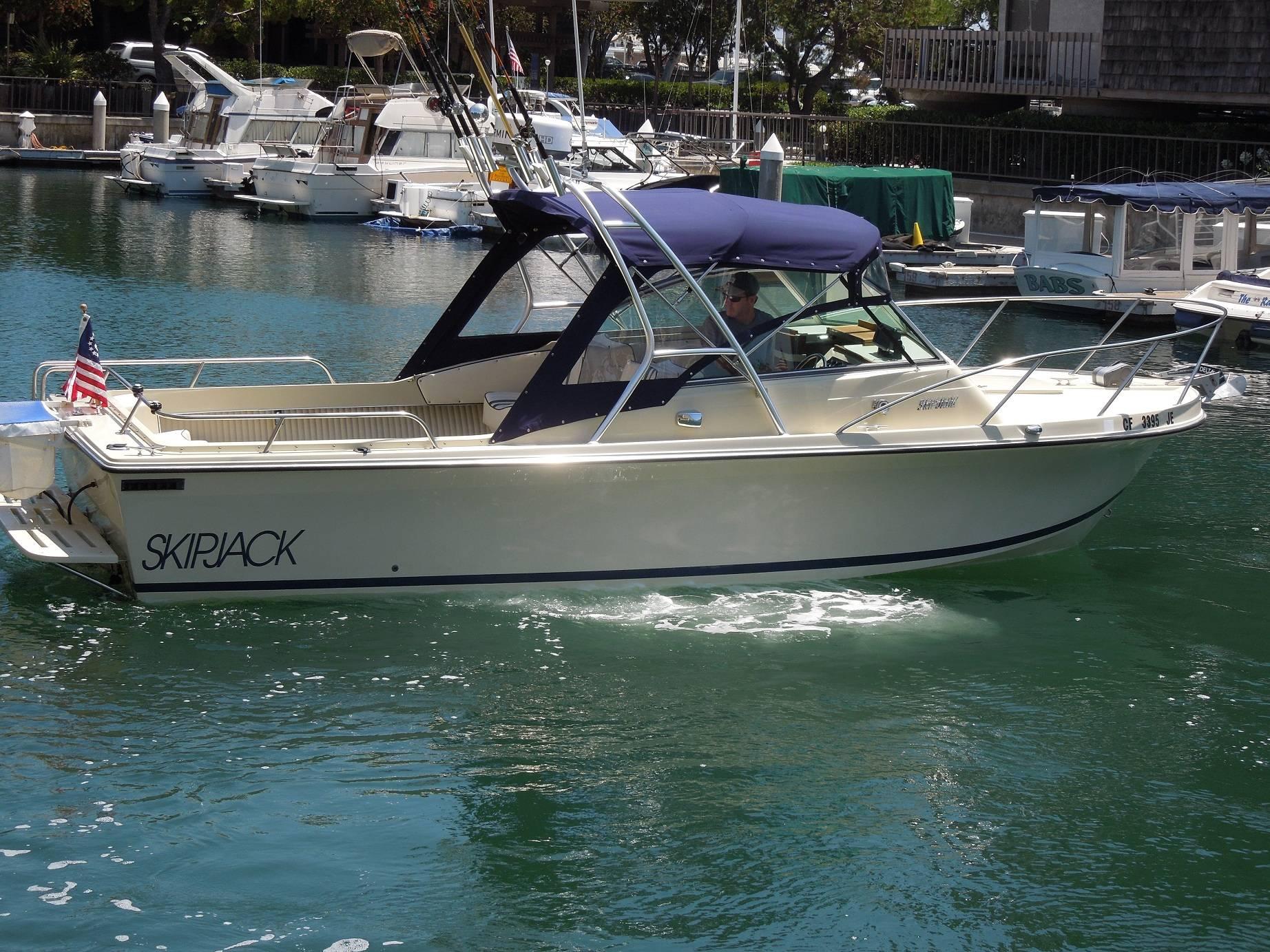SkipJack Boats Decal