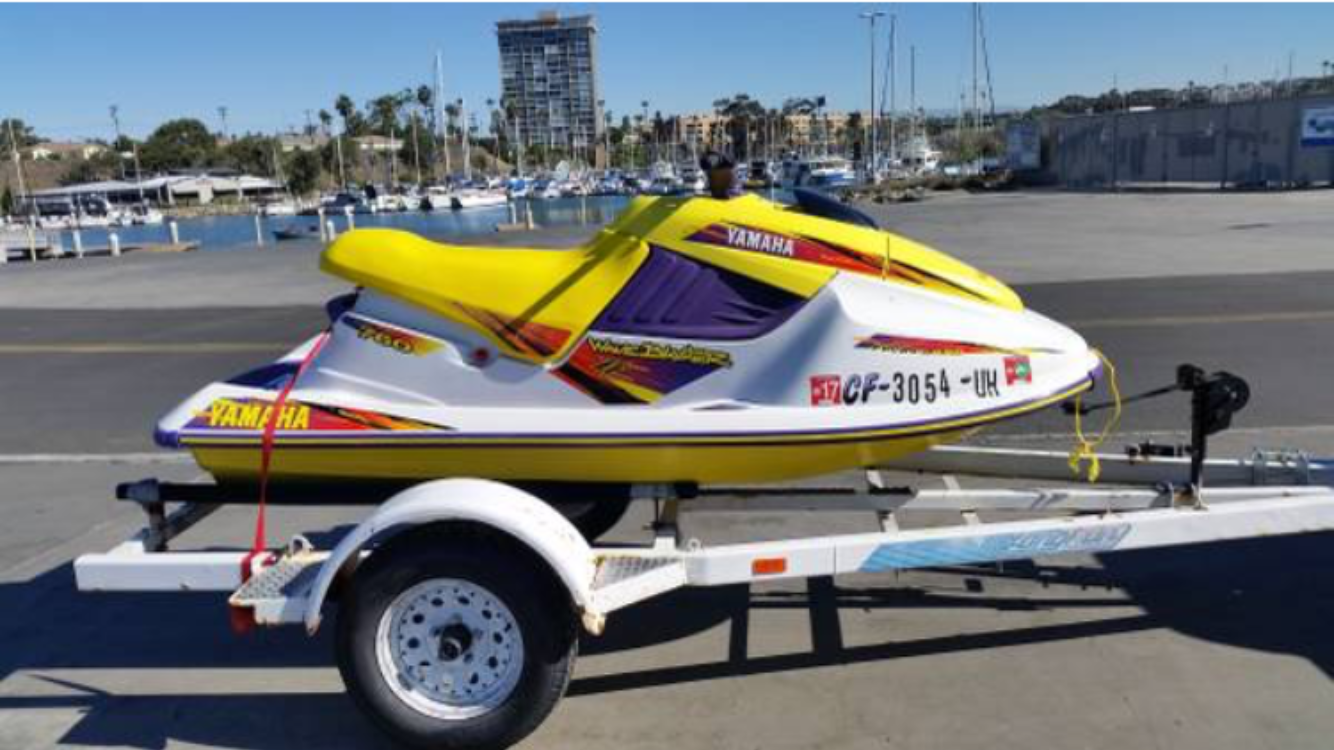 FOR SALE - 1996 Yamaha Waveblaster II | Bloodydecks