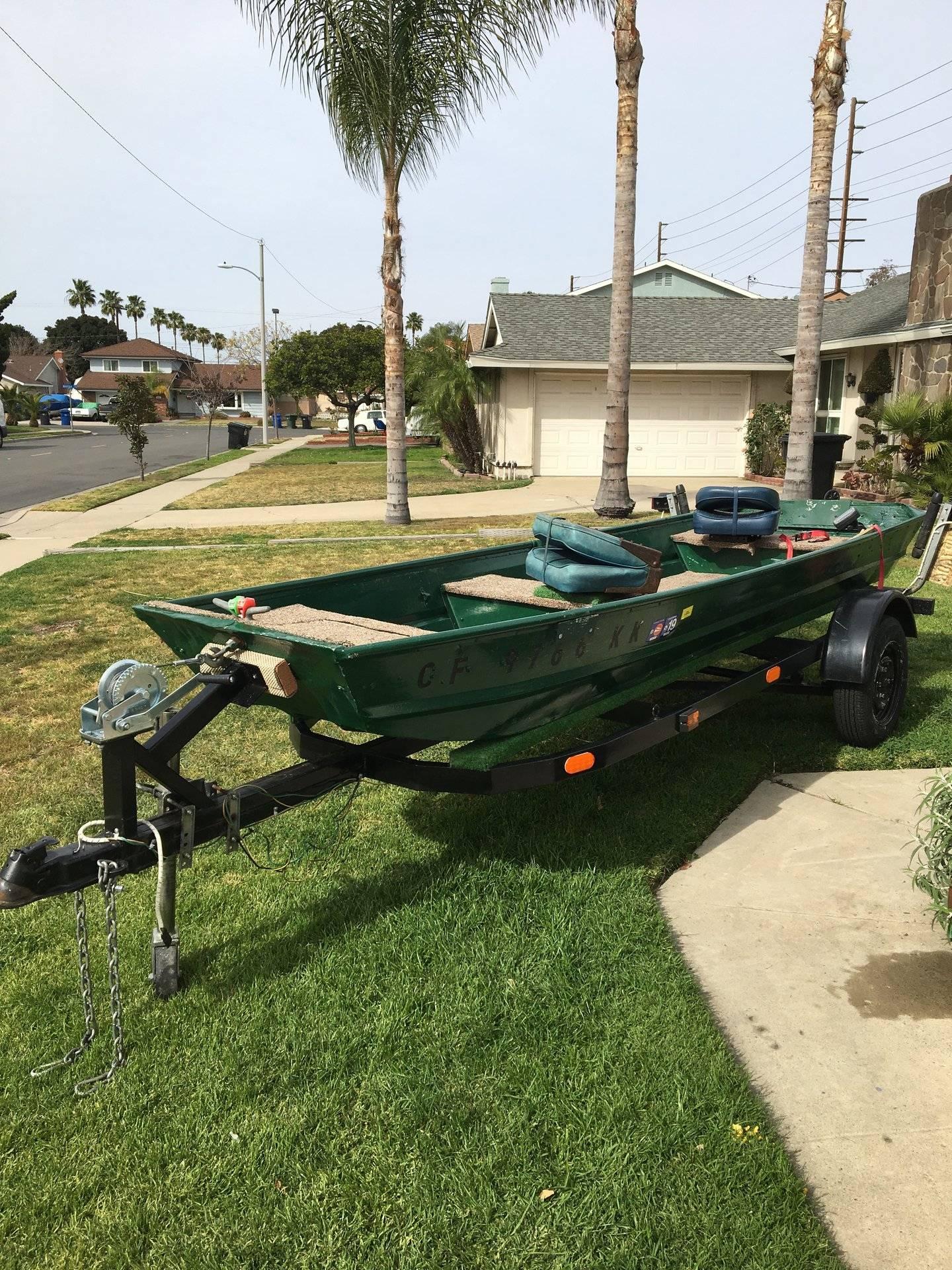 For Sale - 14 foot Aluminum Jon Boat (San Diego)   Bloodydecks