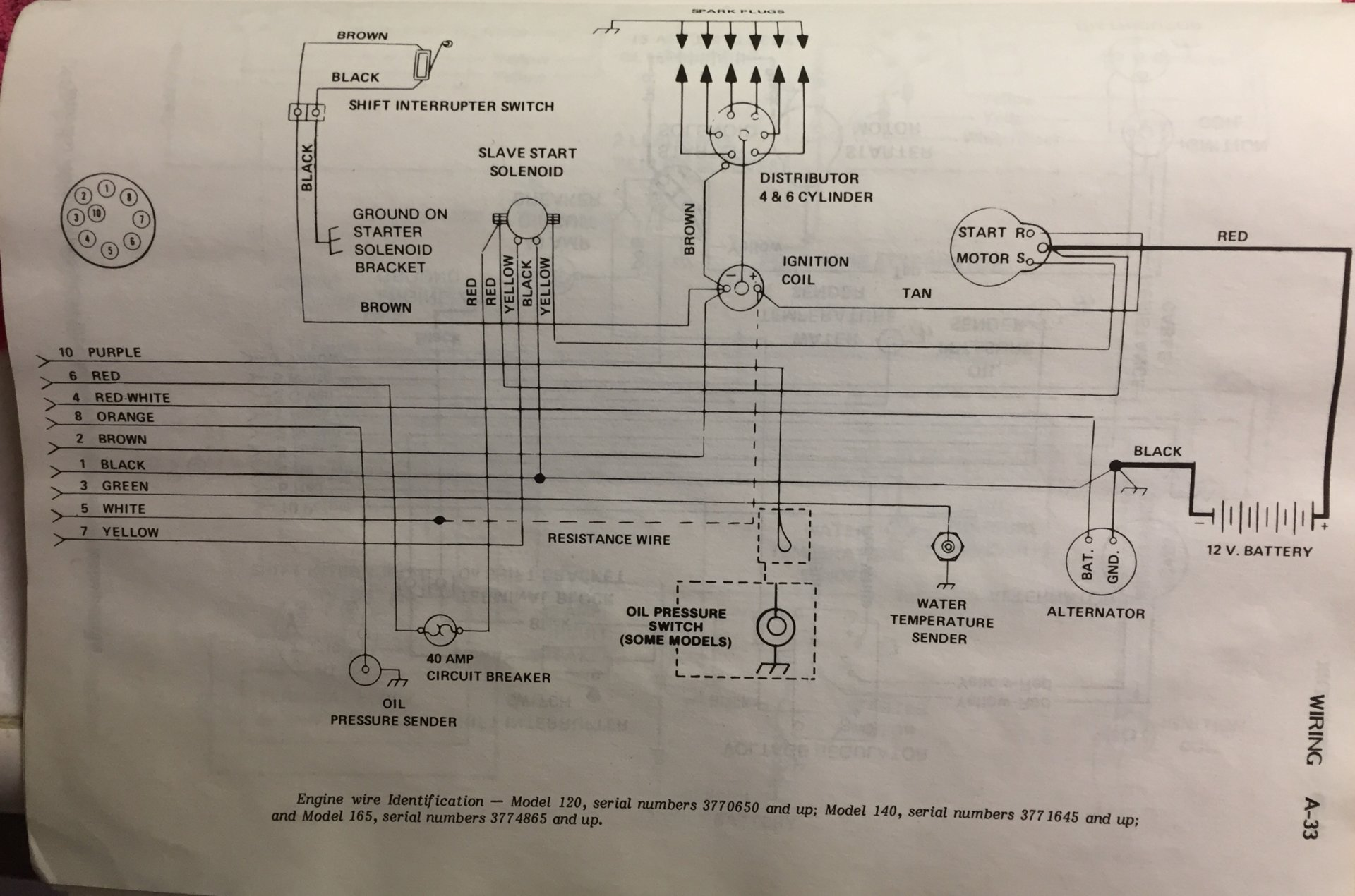 Mercruiser Battery Wiring Diagram