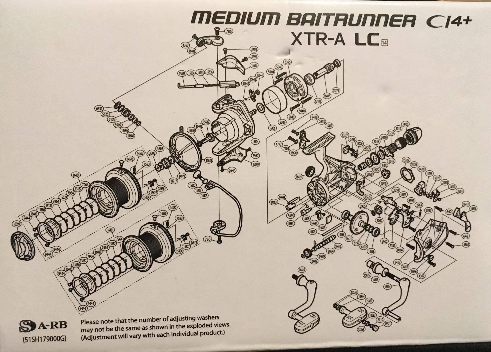 For Sale - Shimano Medium Baitrunner CI4+ XTR A Longcast, Baitrunner Reel  (used once) | Bloodydecks