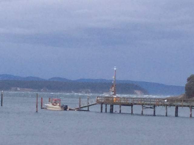 West beach on the dock, stormy.jpg