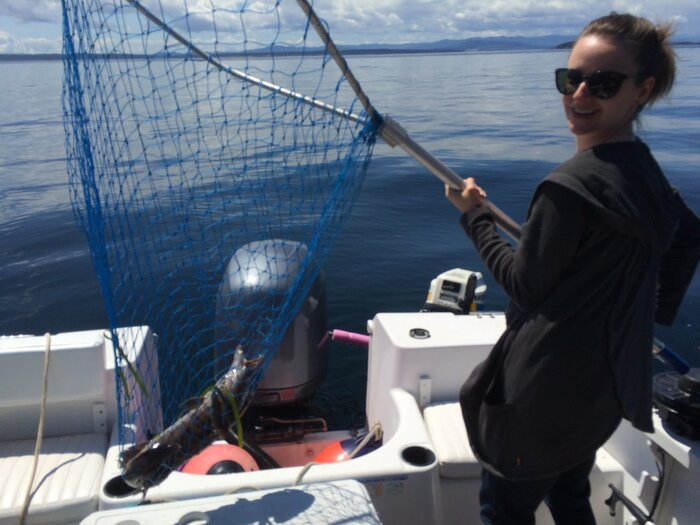 cheryl holding fish.JPG