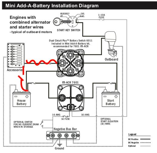 Blue Sea Systems Add A Battery Wiring Question Bloodydecks