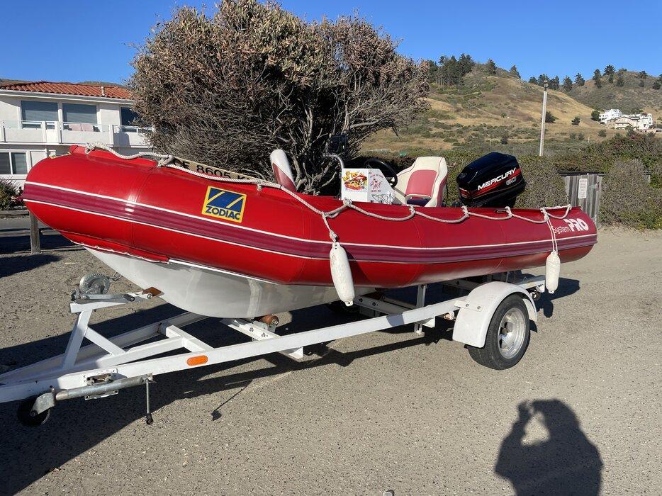 Zodiac MilTech Rescue Boat
