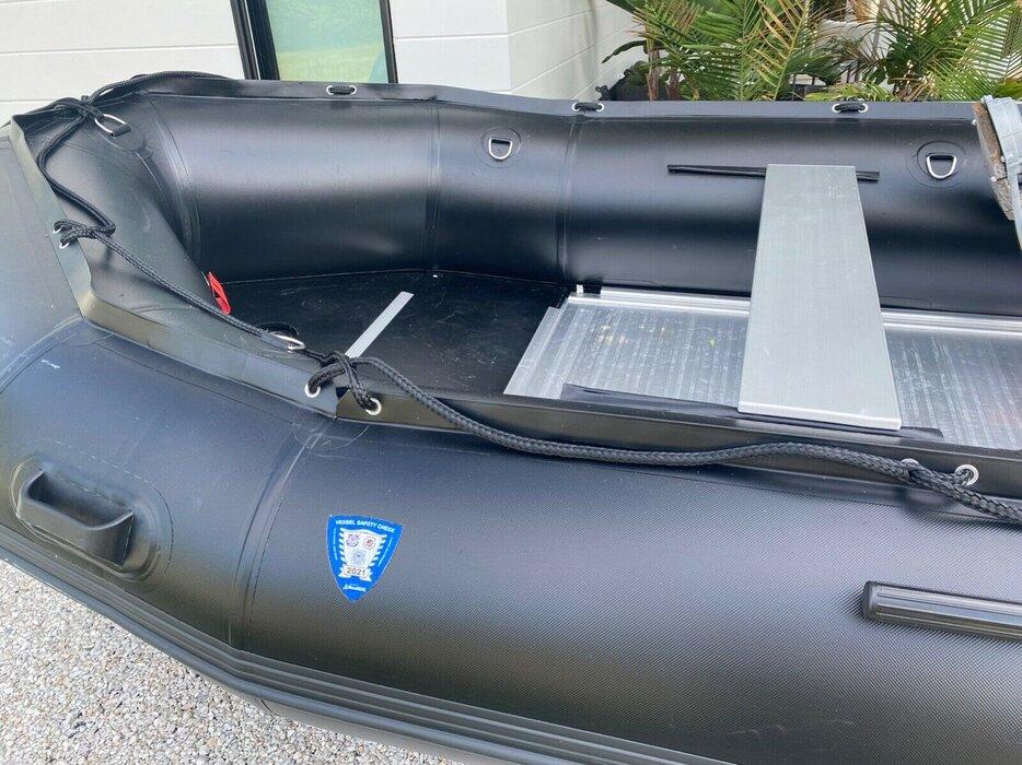 brand new 2020 inflatable boat 15 HP like Avon or Zodiac RIB RHIB