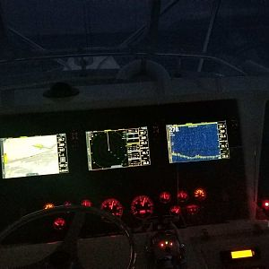 Simrad Evo2 doing their thing.