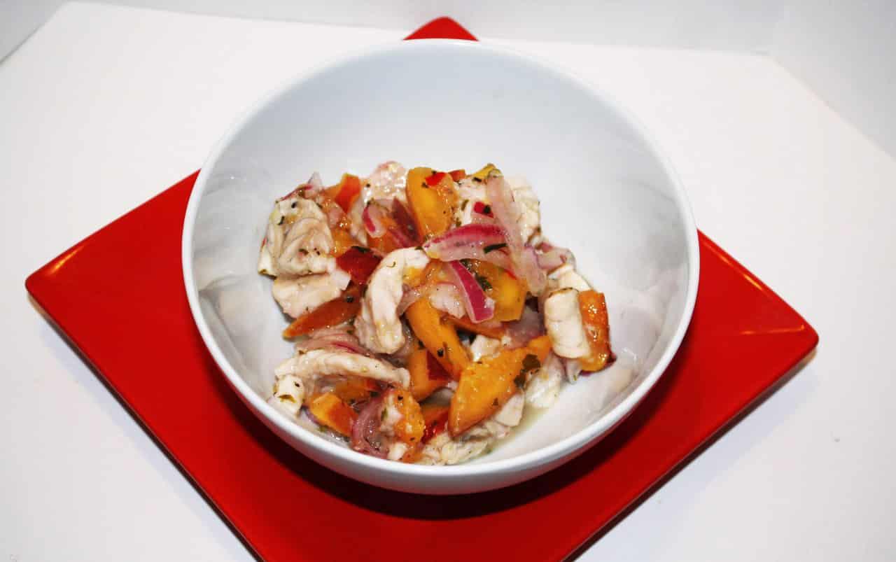 Nectarine Ceviche Recipe