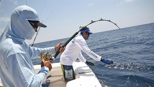 fishing battle