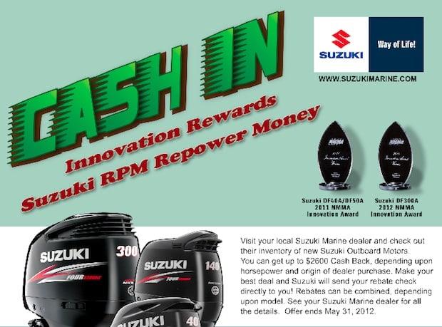Suzuki Outboard Promotions | Suzuki Gimme Six Cash In