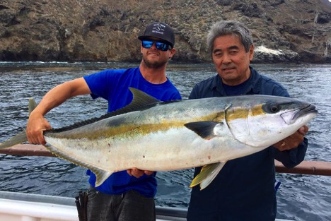 Socal weekend fish report august 11 saltwater fishing for Southern california saltwater fishing report