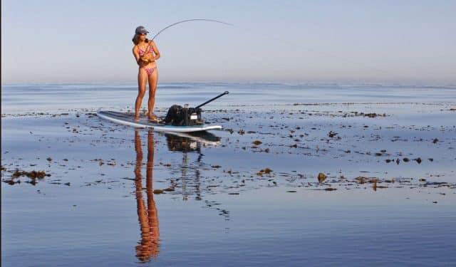 Michelle Bowman kelp fishing