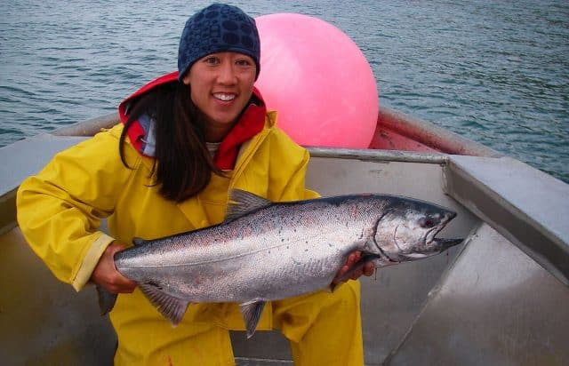 Michelle Bowman alaska fishing