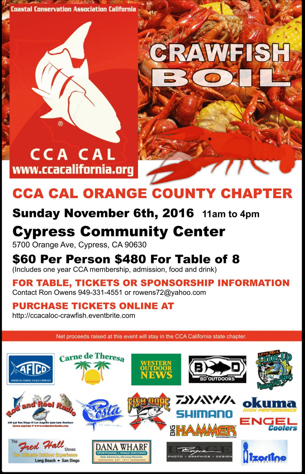 Chapter Crawfish Boil