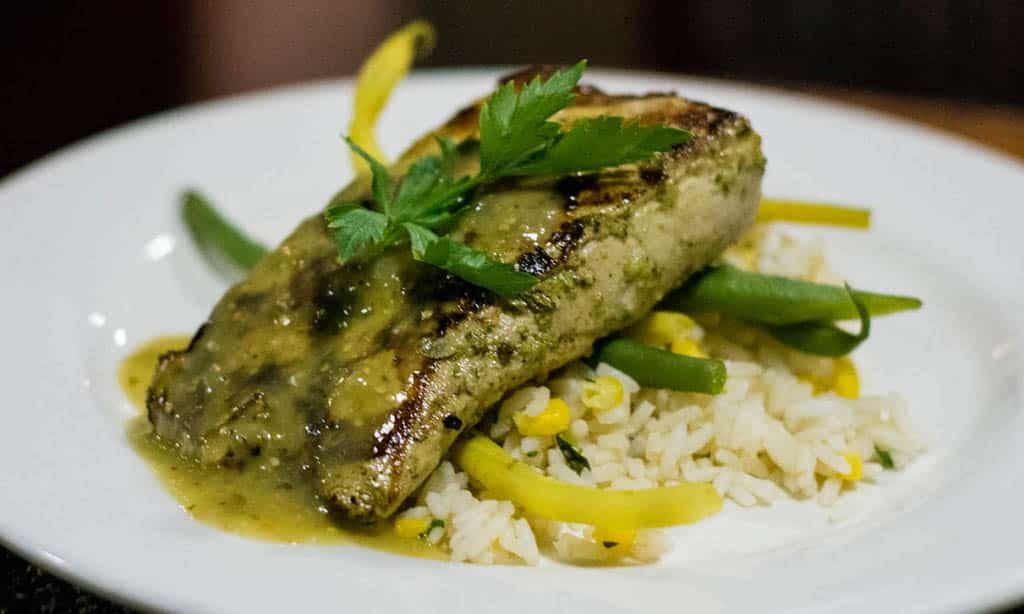 yellowtail grilled