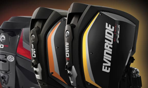 Evinrude boat engine