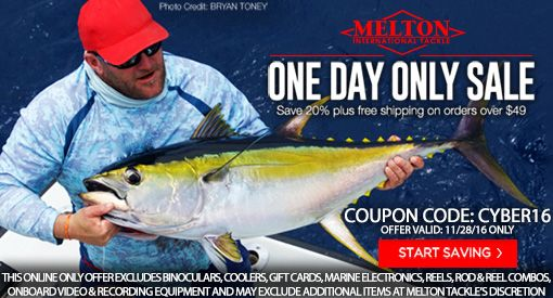 Melton International Tackle Cyber Monday Specials Bdoutdoors Bloodydecks