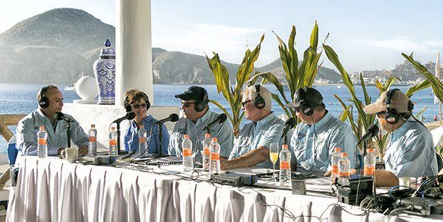 Broadcasting live
