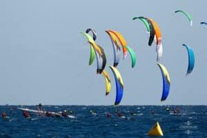 kites at beach