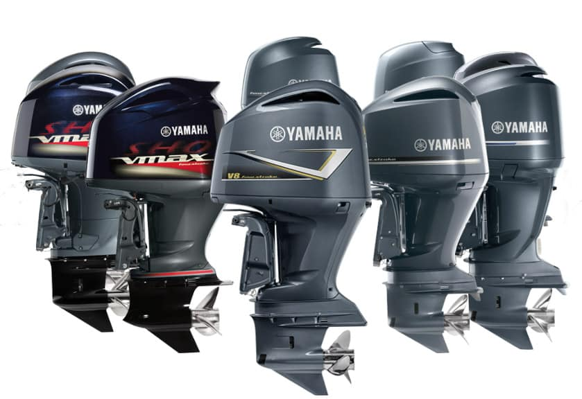 Yahmaha sale on boat engine