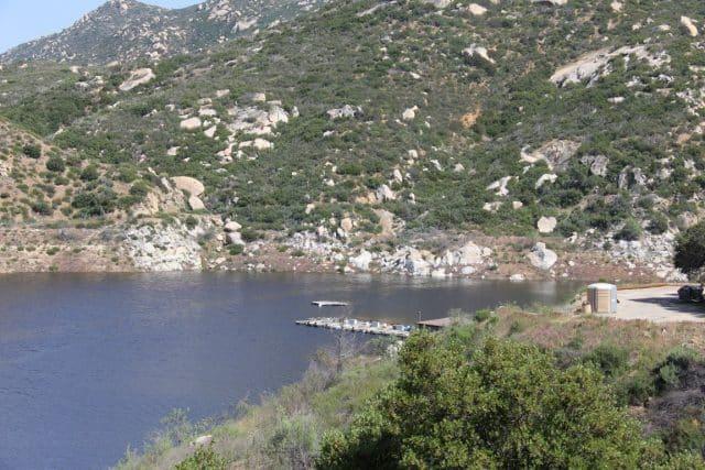 Barrett Lake for fishing