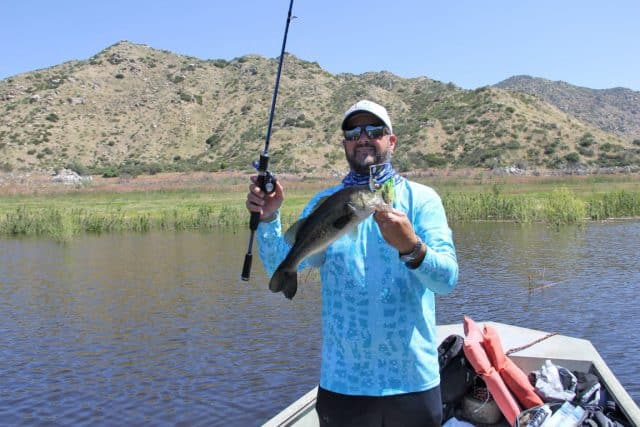 barrett lake fishing