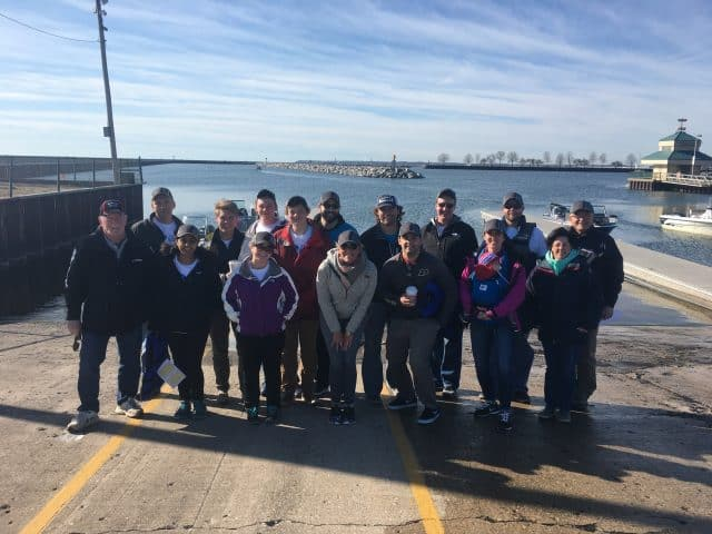 evinrude motors Annual Spring River Cleanup team