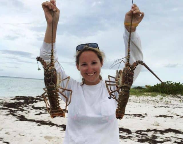 Lauren Parker crabs