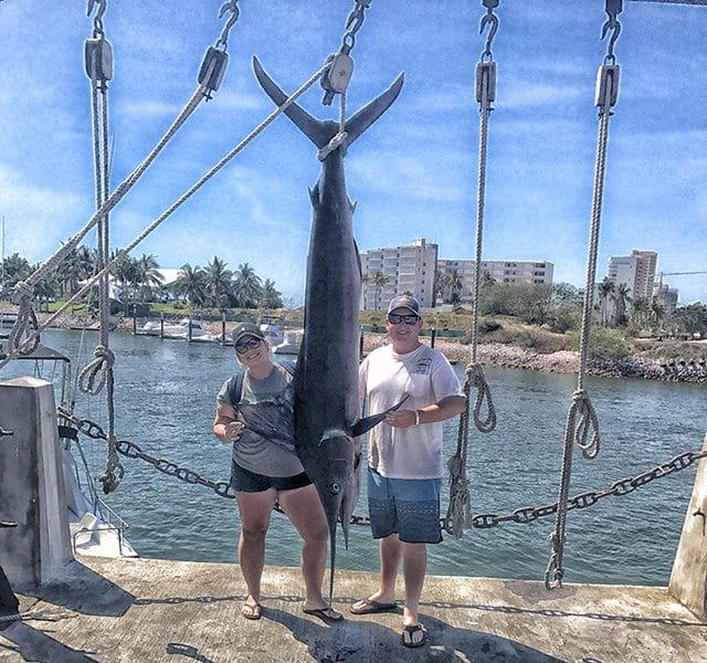 !80- pound fish