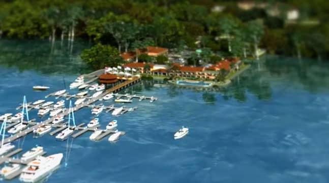 Crocodile Bay Launches International Marina for fishing