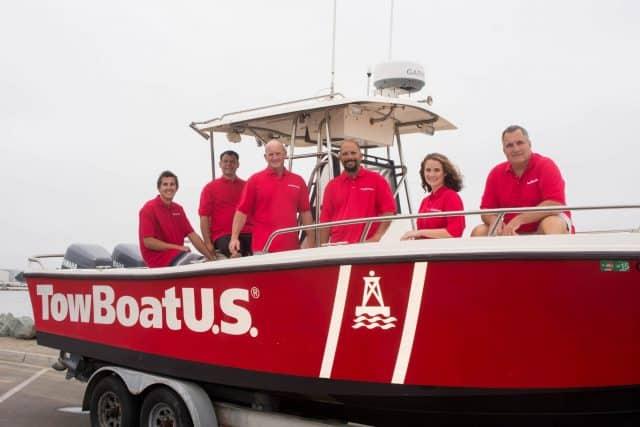towboatUS services Costa Yellowtail Shootout 2017