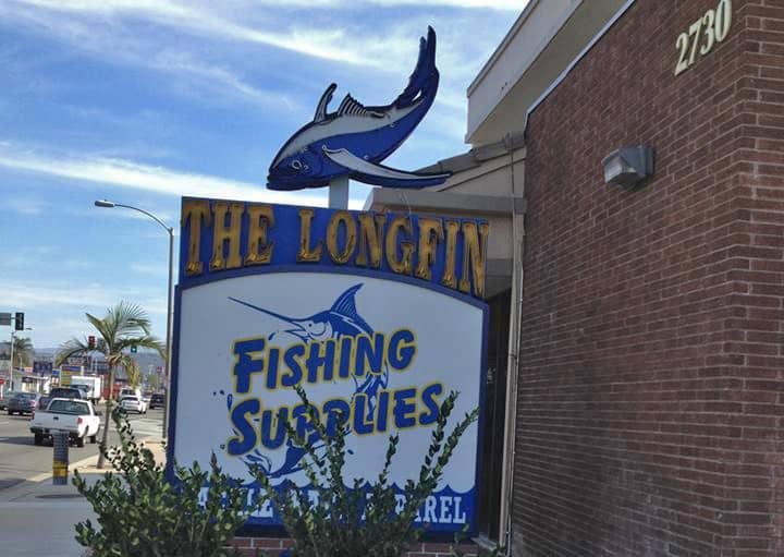 Longfin fishing