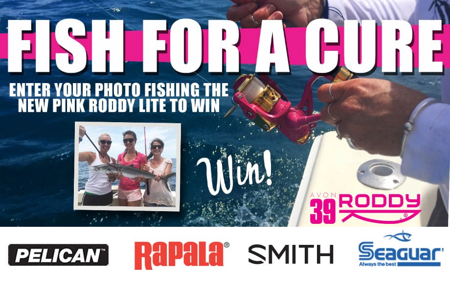 Master Roddy Fish for a Cure Promotion -fight breast cancer Master Roddy