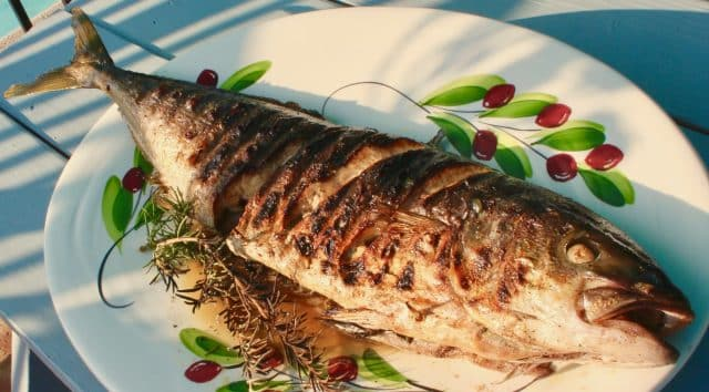 Grilled Whole Yellowtail recipe from Fisherman's Belly