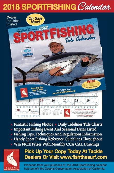 Sportfishing Tide Calendar