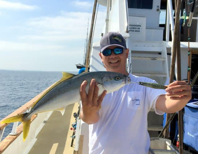 sportboat tackle advice for winter yellowtail