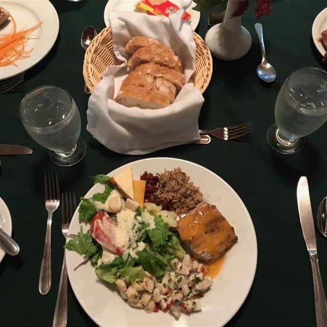 Mahi plate