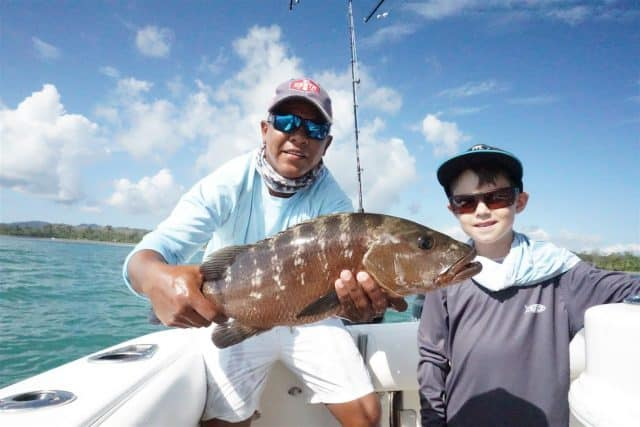 Crocodile Bay Resort snapper fishing