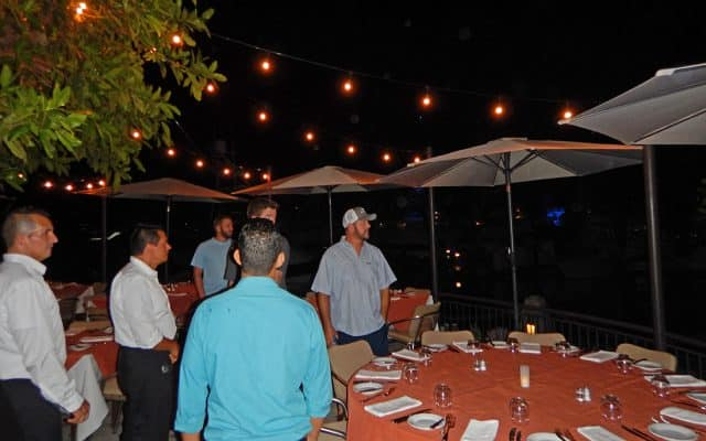 fine dining at Los Suenos Costa Rica
