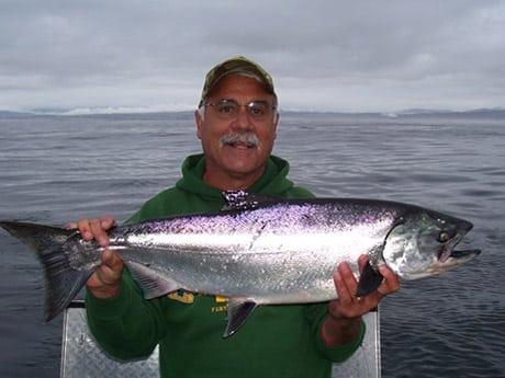 California salmon fishing