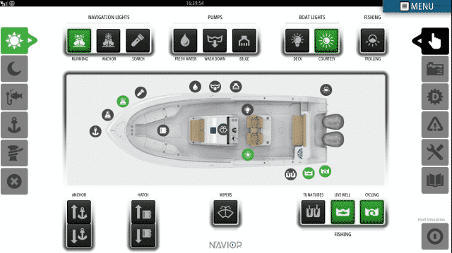 Simrad Connected Captain