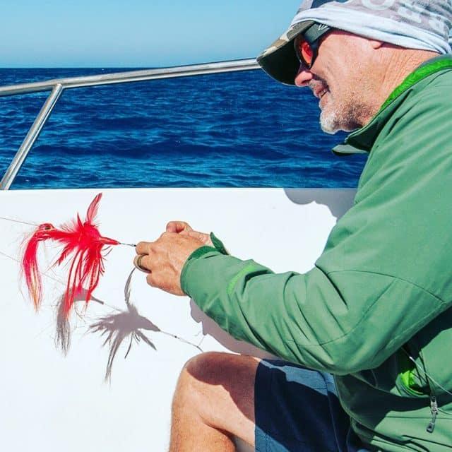 rigging a shark fly