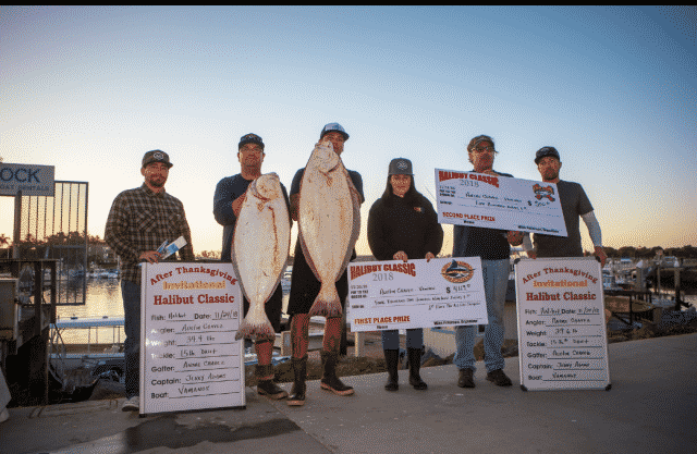 Halibut Classic Results