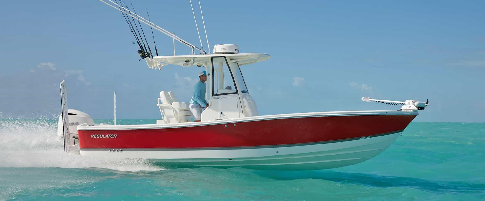 regulator boat